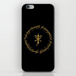 One Ring To Rule Them iPhone Skin