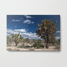 Joshua Trees in Mojave Desert Metal Print