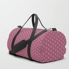 Spring Roses Pattern ~ LOVED UP VAR Duffle Bag