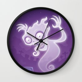 Ghostie Wall Clock