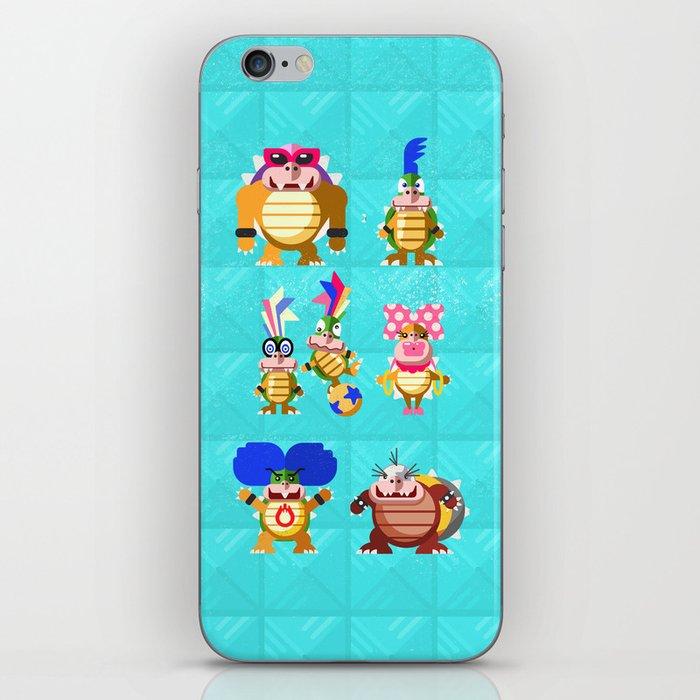 Koopalings! iPhone Skin