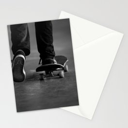 Pushing off Stationery Cards