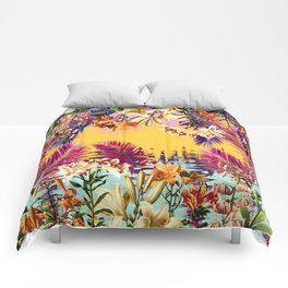 Tropical Time Comforters