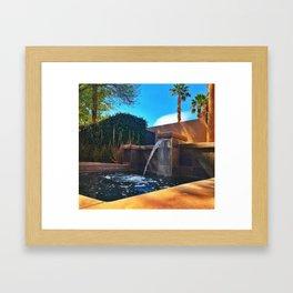 Desert Relaxation Framed Art Print