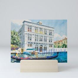 Italian Gondolier Mini Art Print