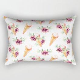 Hawaiian Dream Ice Cream Rectangular Pillow