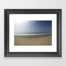 Simple California Framed Art Print