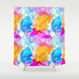 Floral Pattern 11 Shower Curtain