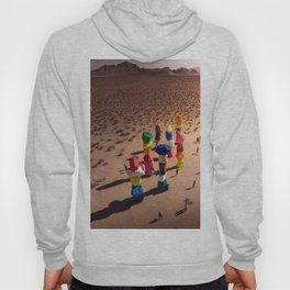 Strange Rocks - 7 Magic Mountains in Las Vegas Hoody