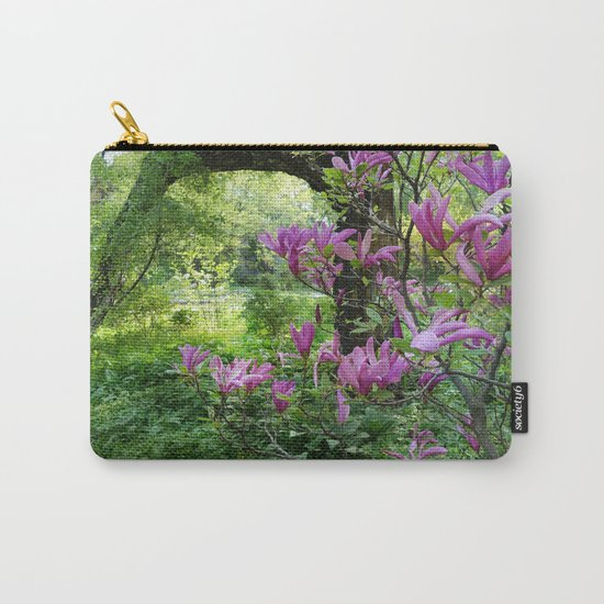 Blooming garden Magnolia Carry-All Pouch