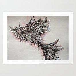 Coruja III Art Print