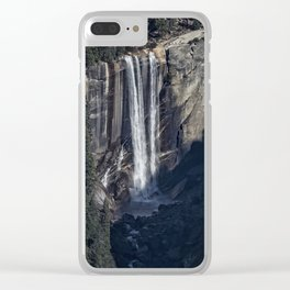 Vernal Fall From a Distance Clear iPhone Case