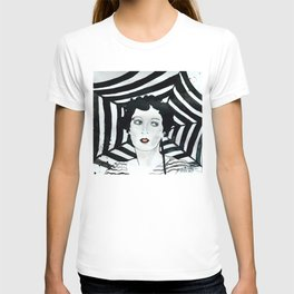 Stripy Umbrella T-shirt