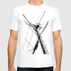 Utility Mens Fitted Tee White MEDIUM