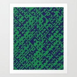 3D DECO BG Art Print