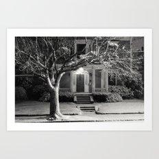 Black & White (5 of 7) Art Print