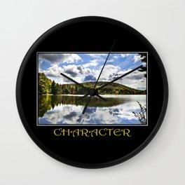 Inspiring Character Wall Clock