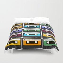 Cassettes Duvet Cover