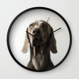 Portrait of Dave (7) Wall Clock