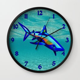 Pool Shark Knot Wall Clock