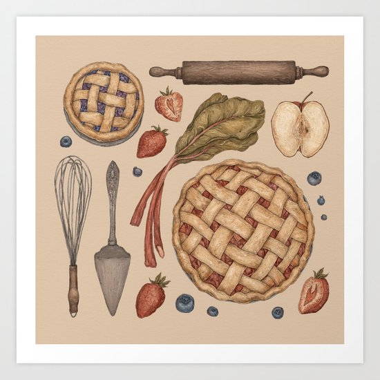 Pie Baking Collection by jessicaroux