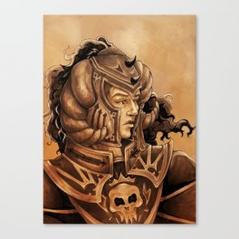 Black Knight Canvas Print