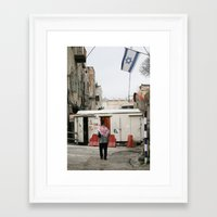 palestine Framed Art Prints featuring Hebron Palestine by Sanchez Grande