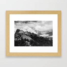 Mount Rushmore National Monument Framed Art Print