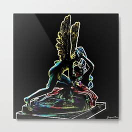 Psyche Revived by Cupid's Kiss by Jéanpaul Ferro Metal Print