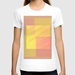 Abstract hot desert T-shirt