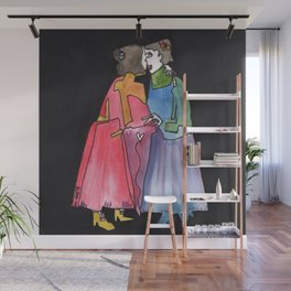Timeless Lady Love Wall Mural