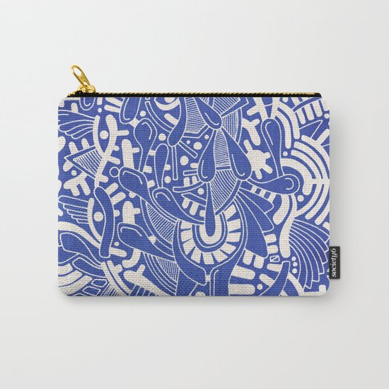 - captain lost in blue - Carry-All Pouch