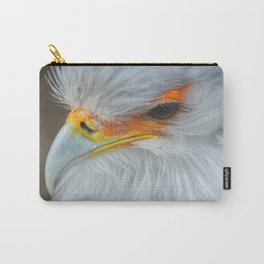 Feathers and eyelashes Carry-All Pouch
