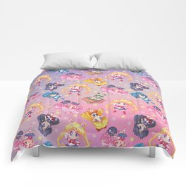 Chibis Crystal Pattern Comforters