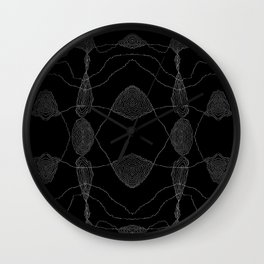Turbulence Wall Clock