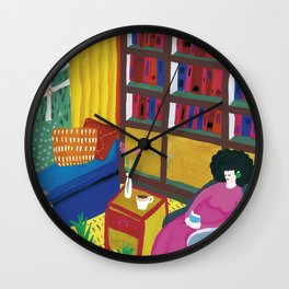 October Wall Clock