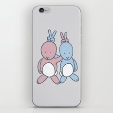 Bunny Ears iPhone & iPod Skin