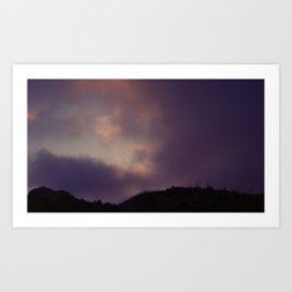 Walk In The Clouds Art Print