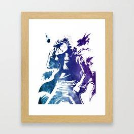 Jotaru Kujo JoJo's Bizarre Adventure Framed Art Print