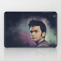 david tennant iPad Cases featuring David Tennant - Doctor Who by KanaHyde