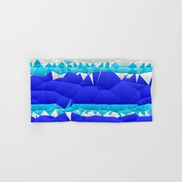 Nautical Inspired Quilted Pattern Design Hand & Bath Towel