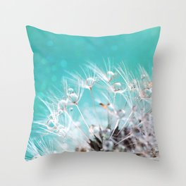 dandelion-two Throw Pillow