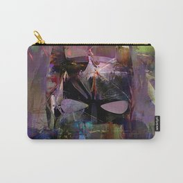 Bat Abstract Man  Carry-All Pouch