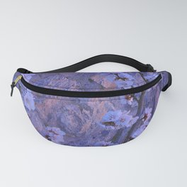 Pear Blossoms Lilac Fanny Pack