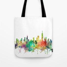 Chicago, Illinois Skyline SP Tote Bag