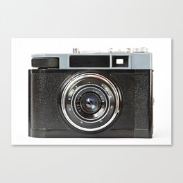Vintage photo camera Canvas Print