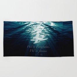 Shadow - Forever parabatai Beach Towel