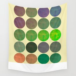 Disco Discs 2 Wall Tapestry