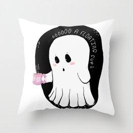 OOOOOO a floating cup! Throw Pillow