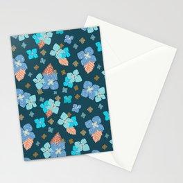 Hydrangea Close-up - Blue Stationery Cards